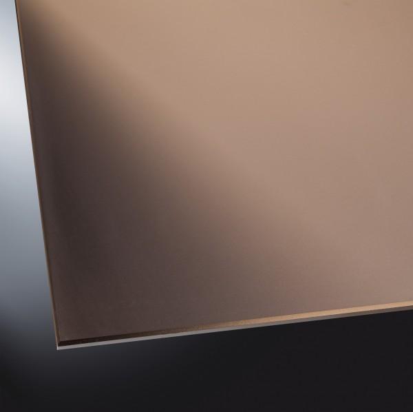 Lackiertes Glas matt | Silver Bronze | nach Maß