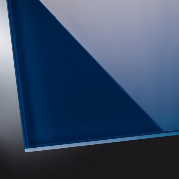 ESG lackiertes Glas glänzend | Petrol Blue 5001