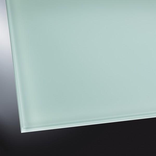 Lackiertes Glas matt | Soft Green 8615 | nach Maß
