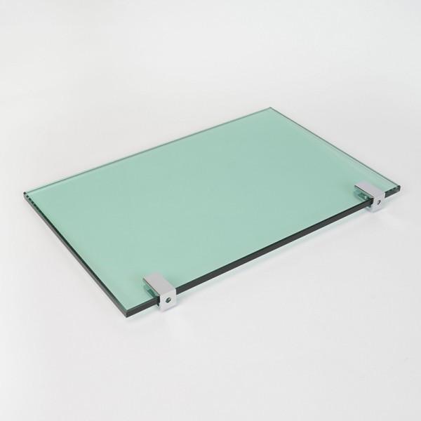 Glaszubehör - Glasplattenträger Klammer