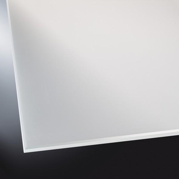 Lackiertes Glas matt | Silver | nach Maß