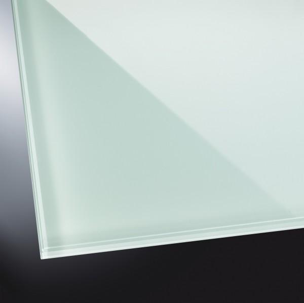 Lackiertes Glas glänzend | Soft Green 8615 | nach Maß