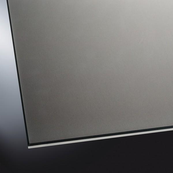 Lackiertes Glas matt | Classic Black 9005 | nach Maß