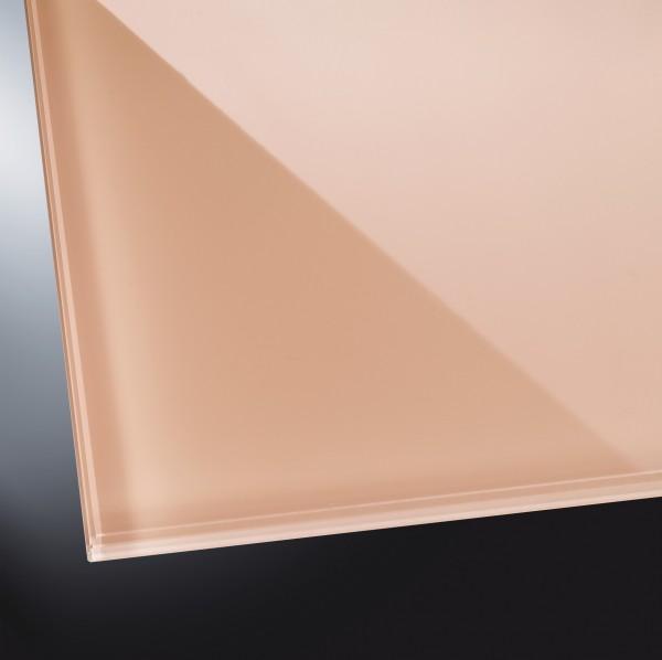 Lackiertes Glas glänzend | Light Beige 1015 | nach Maß