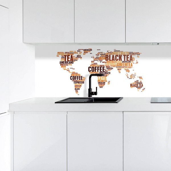 Küchenrückwand | Digitaldruck Kaffeewelt