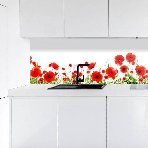 Küchenrückwand | Digitaldruck Mohn
