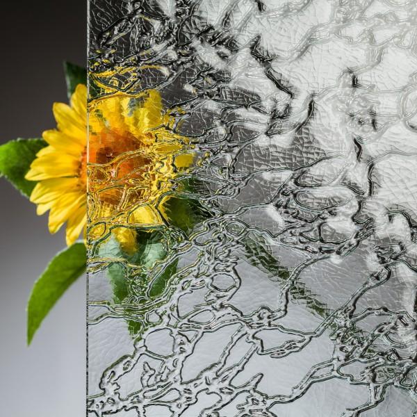 4 mm ESG Ornamentglas Delta