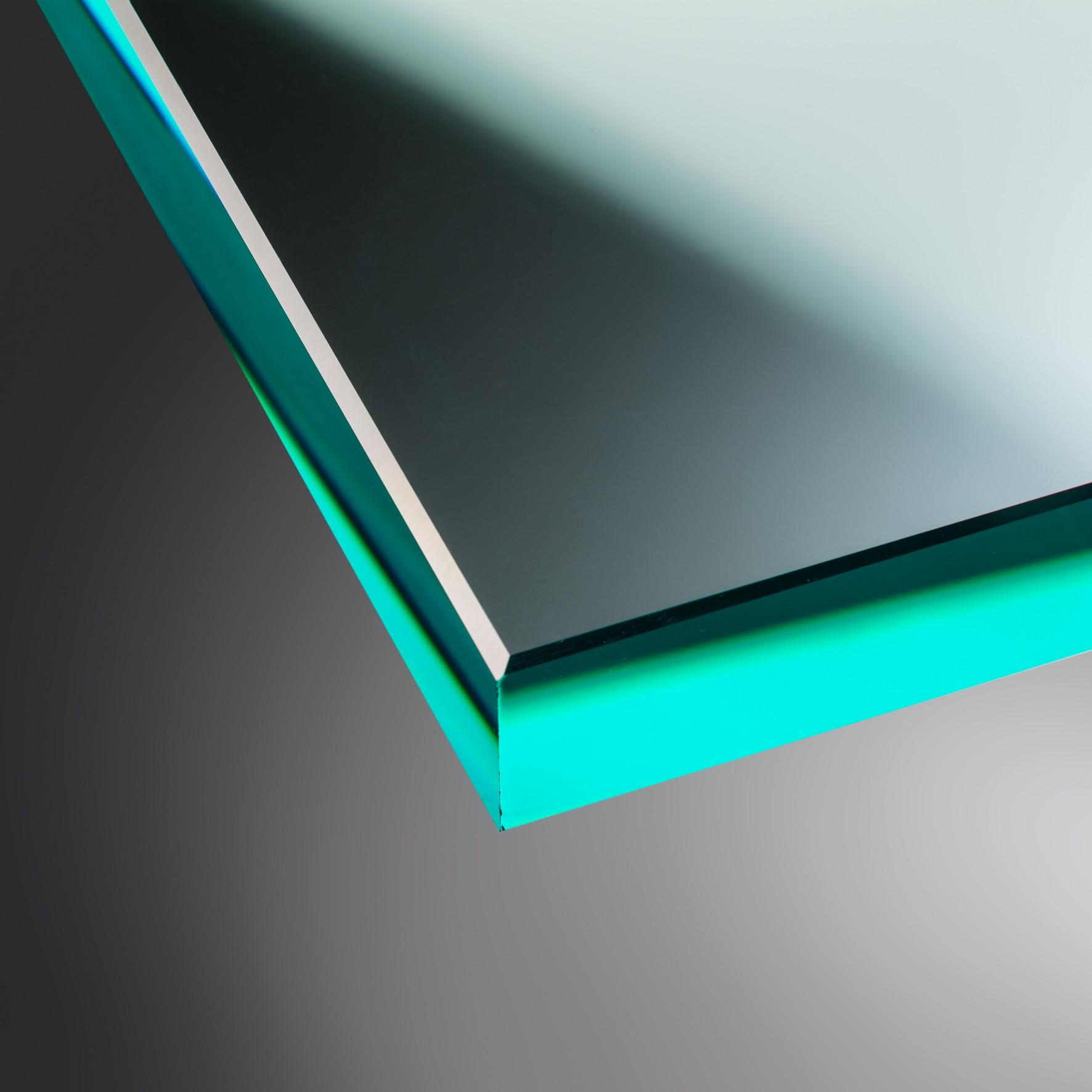Ecken gesto/ßen Nach Ma/ß bis 40 x 120 cm klar durchsichtig biege- und sto/ßbelastbar. Einscheibensicherheitsglas nach DIN Glasplatten ESG 8mm 400 x 1200 mm Kanten geschliffen und poliert