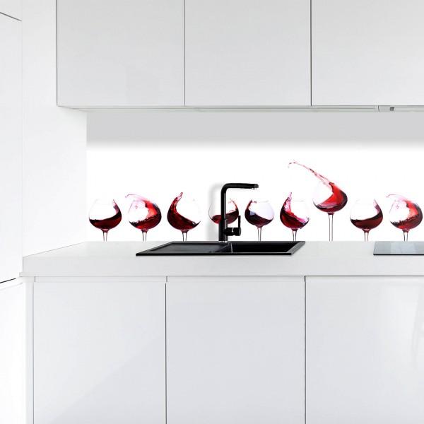 Küchenrückwand | Digitaldruck Wein