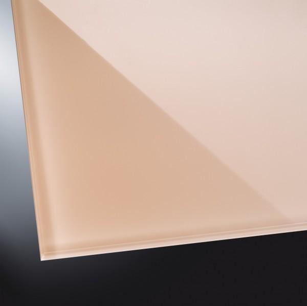 Lackiertes Glas glänzend | Pearl White 1013 | nach Maß