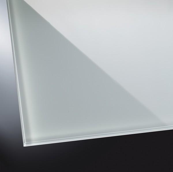 Lackiertes Glas glänzend | Classic Grey 7035 | nach Maß