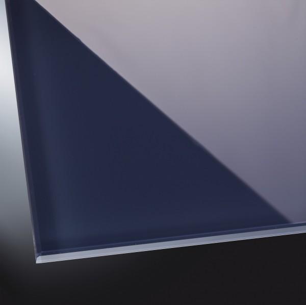 Lackiertes Glas glänzend | Authentic Anthracite 7016 | nach Maß