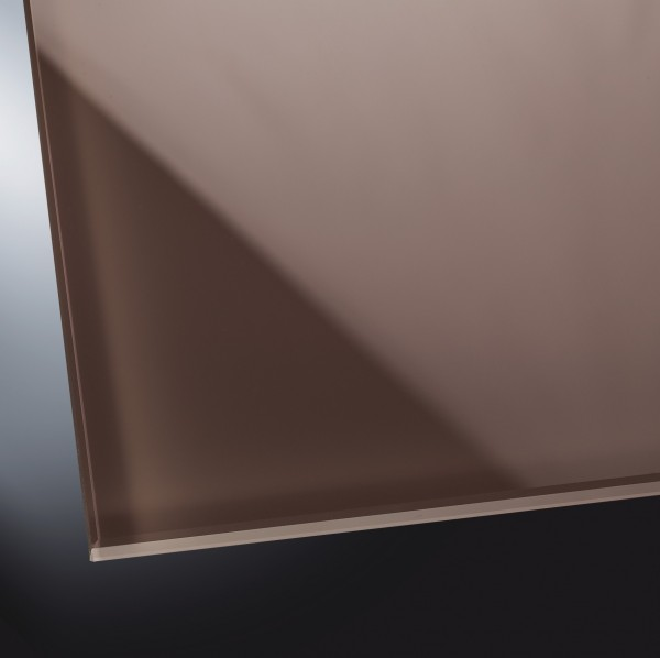 ESG lackiertes Glas glänzend | Natural Brown 7013
