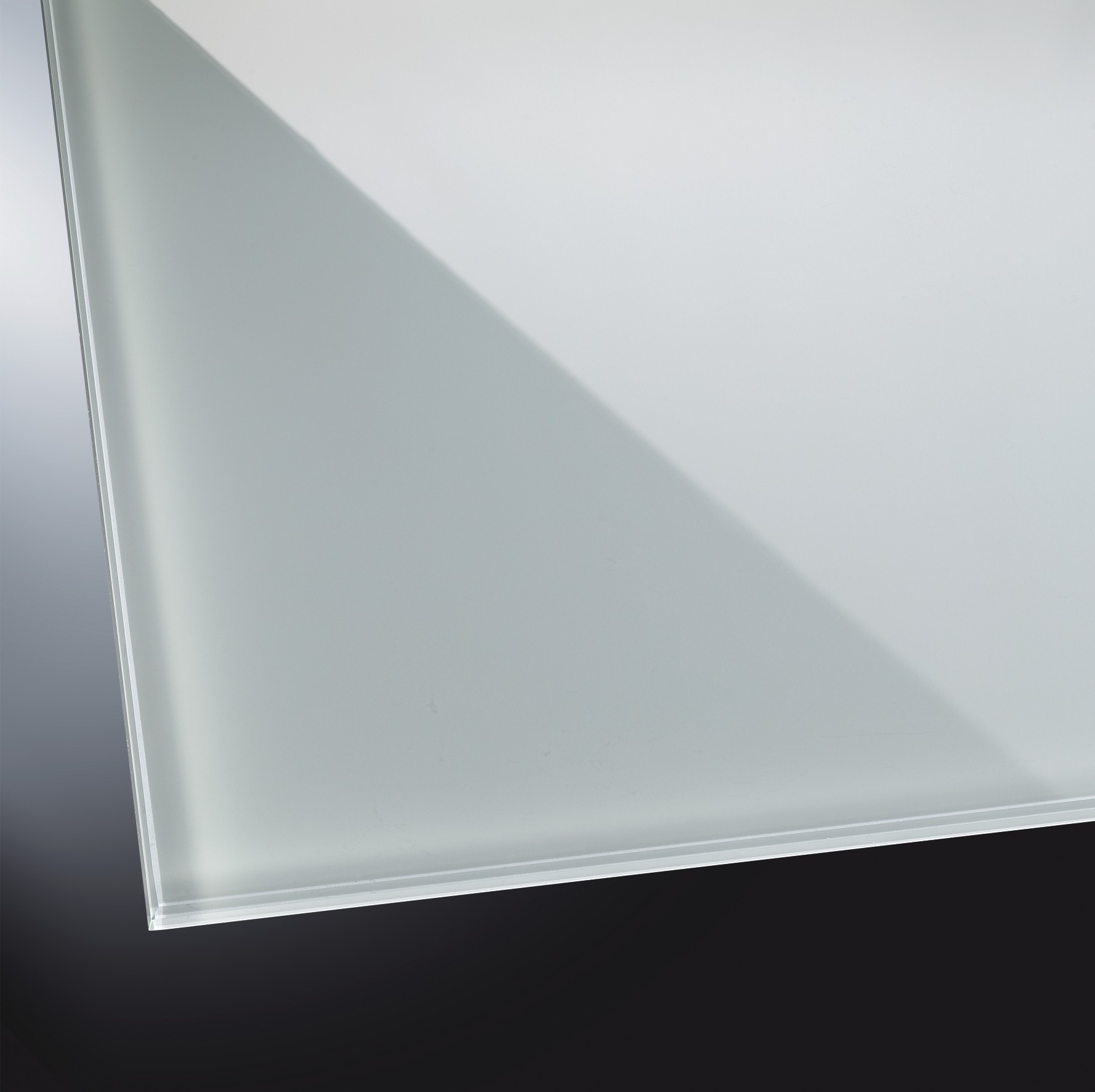 esg lackiertes glas gl nzend classic grey 7035 glasheld. Black Bedroom Furniture Sets. Home Design Ideas