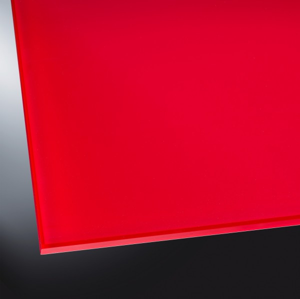 ESG lackiertes Glas matt | Luminous Red 1586