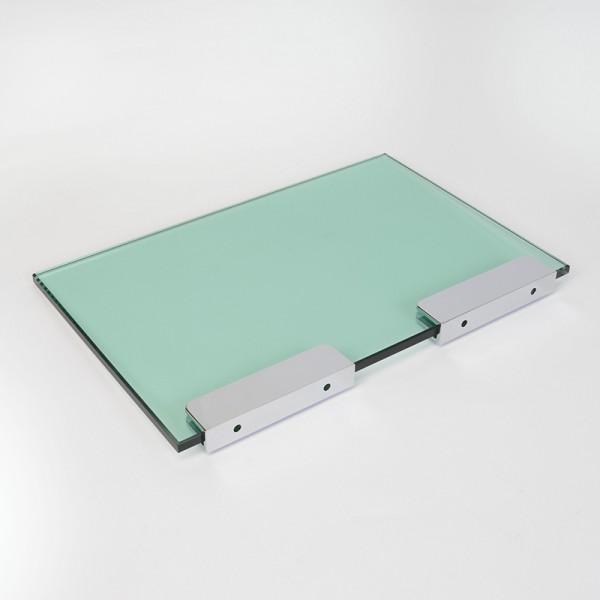 Glaszubehör - Glasplattenträger Rechteckig