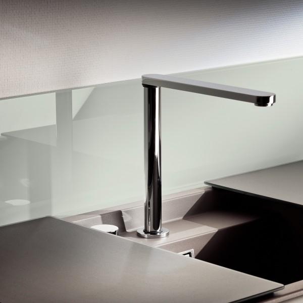 Küchenrückwand Soft White 9010 | Glasheld