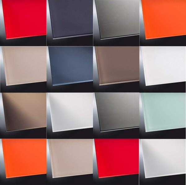 ESG lackiertes Glas matt | Ihre RAL-Farbe