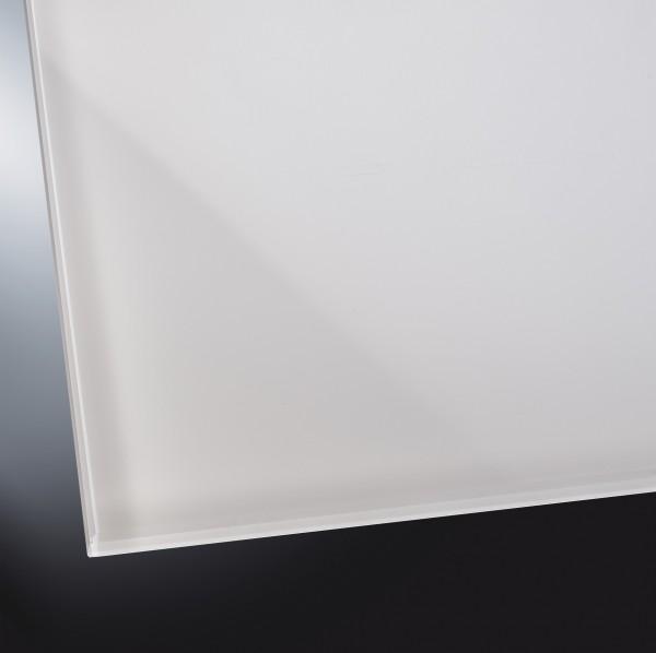 ESG lackiertes Glas glänzend | Pure White 9003